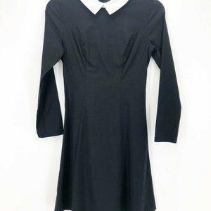 Grace Karin Women Retro Collar Dress Black White S